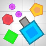 Tank War – Geometry Go Shot Color Dot.IO
