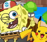 Spongebob Play Pokemon Go
